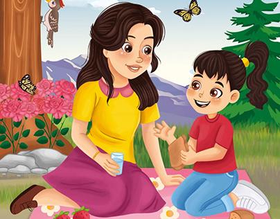 Children's Book Illustrations / Çocuk kitabı çizimlerim