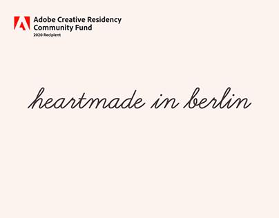 Heartmade in Berlin - Adobe Community Fund