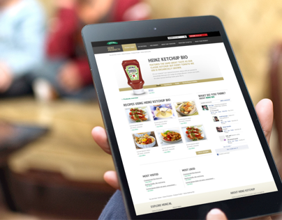 H.J. HEINZ  /  EUROPEAN WEBSITES