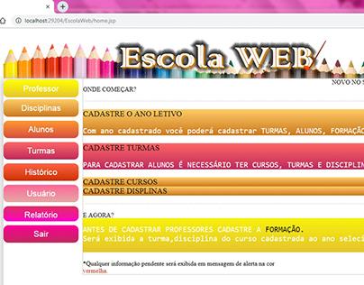 Escola Web JSP