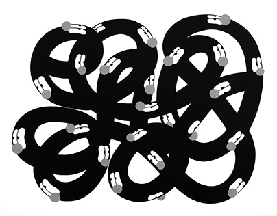 Knotted series