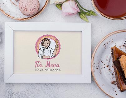 Logotipo - Tia Nena Bolos Artesanais