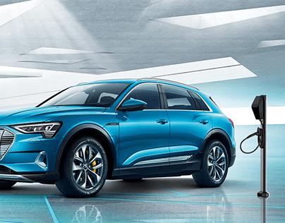 Audi e-tron墙盒