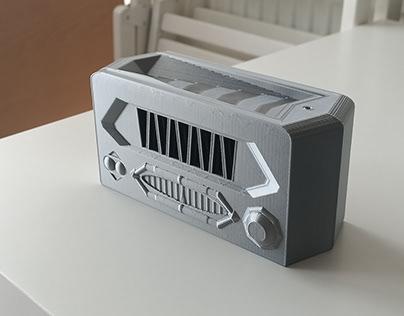 Radio Incense Holder