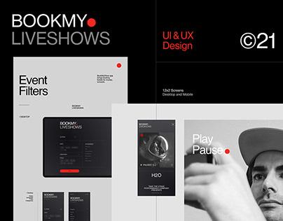 Ticketing Website & APP | UI & UX