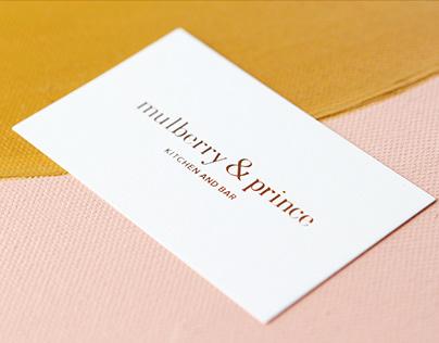 Mulberry & Prince Restaurant