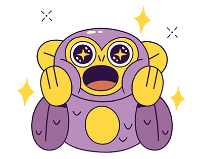 Google Allo - Stickers - Mono Monito