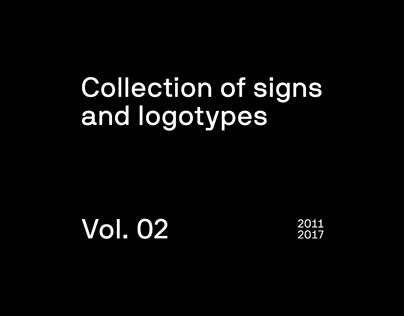 Collection of signs and logotypes - vol. 02