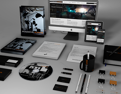 Massive Agency Corporate Identity Work
