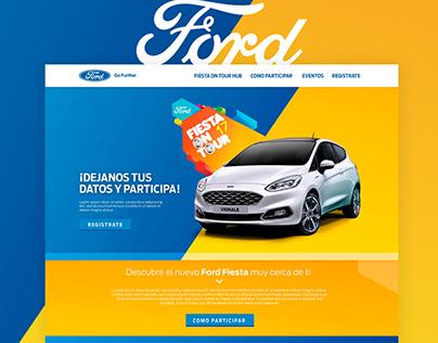 Ford Fiesta On Tour