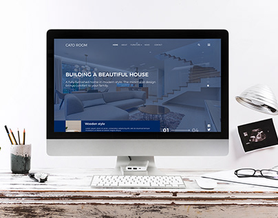 Landing page CATO ROOM