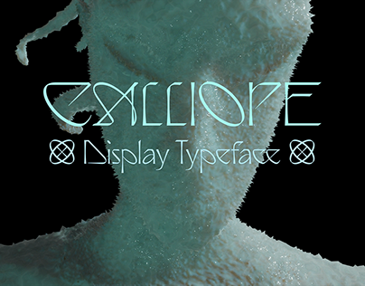 Calliope Display Typeface