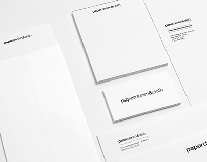 Paper Denim & Cloth | Branding