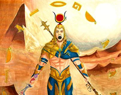 "Commission- ""Hieroglyph"""