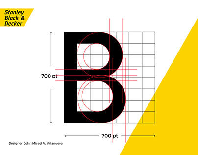 Stanley Black&Decker Official Typeface