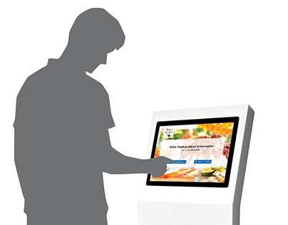 Information Kiosk   UI Design