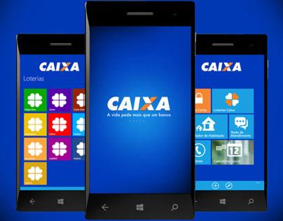 Windows Phone UI Kit - Caixa Econômica