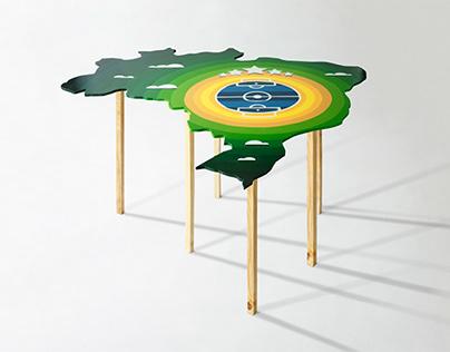 Mesa Copa América | Illustration