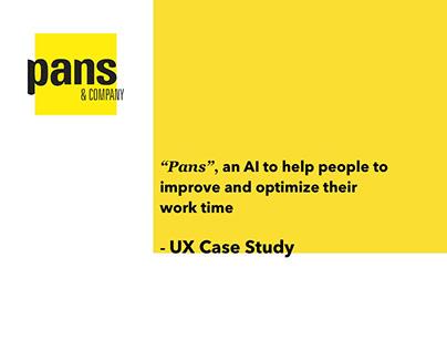 """""""Pans"""" - UX Case Study"""