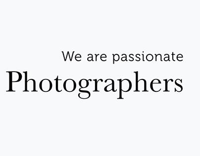 Portfolio for artists