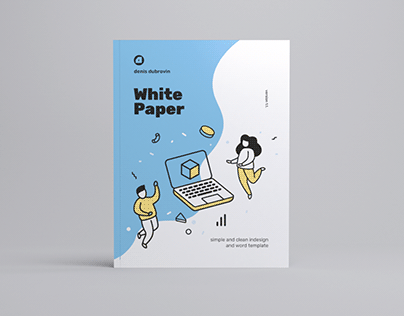 White Paper Illustrated Template