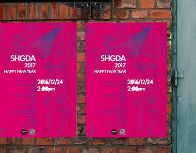 SHGDA年会的Poster design