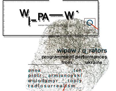 WIPAW logo and identity