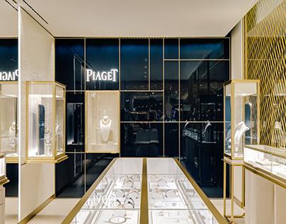 Piaget / Galeries Lafayette corner