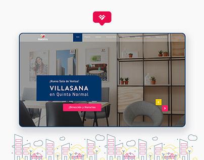 Inmobiliaria MAESTRA / Website
