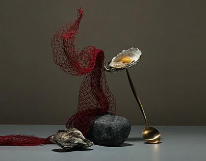 Seafood x Line art