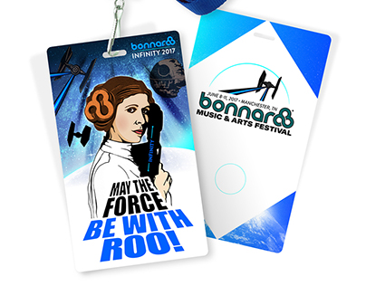 Bonnaroo Princess Leia Laminate