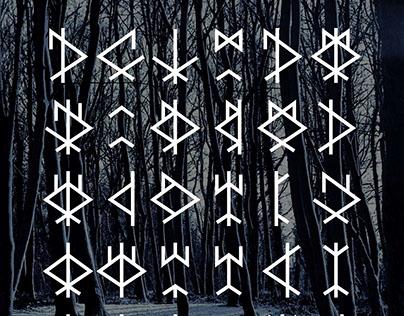 Symboles dérivés de la rune