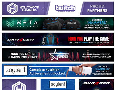 Hammers Esports   Website Advertisements