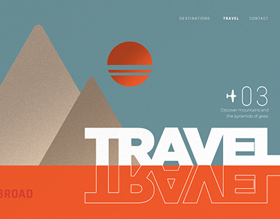 Dreams Travel Campaign - Branding & Print Design