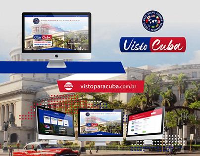 Web Design | Website Visto para Cuba (VOE)