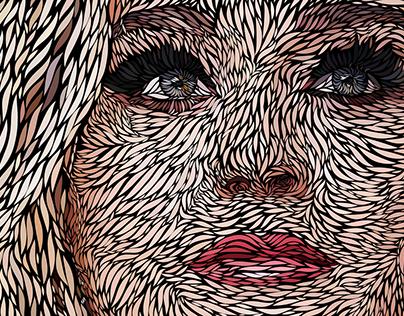 Katy Perry | Vector portrait