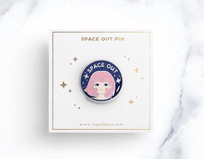Ivycdraws Enamel Pin Designs