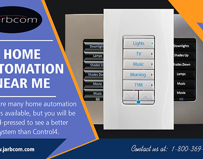 Home Automation Near Me | Call - 1-800-369-0374 | jarbc