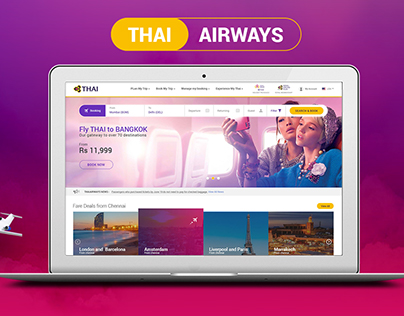 Thaiairways Redesign Concept, Flight/Airways Design