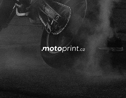 Motoprint Logo and Visual Style
