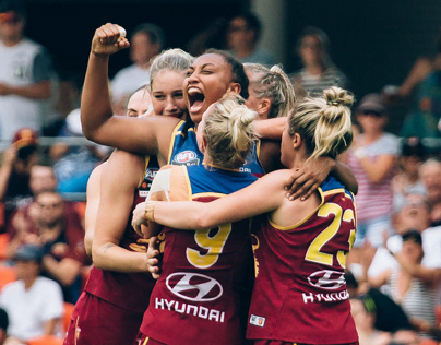 Photography - AFLW Grand Final