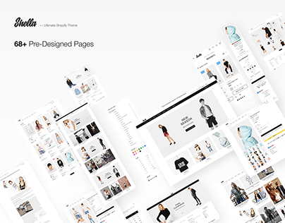 Shella - shop, store, eCommerce theme (free sources)