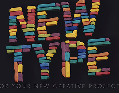 Color Bricks - Free 3D Lettering