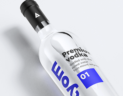 Artyom - Vodka - Branding