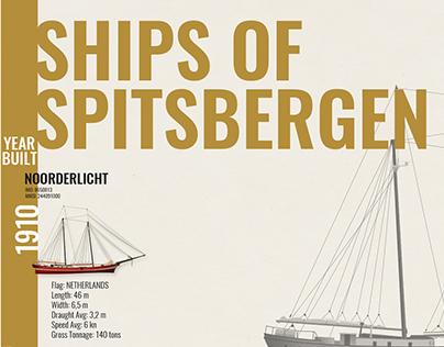 Ships of Spitsbergen