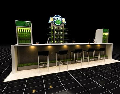 Perrier Bar Design