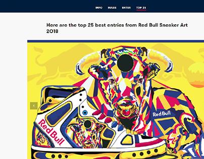 Red Bull Sneaker Art :The African Bull