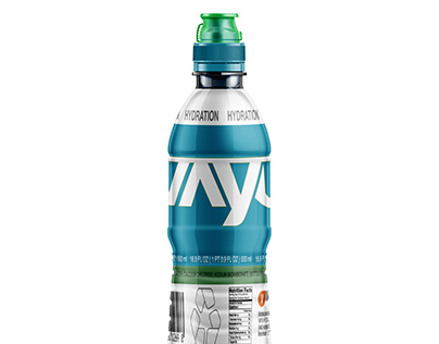 VAYU Water Bottle Label Project