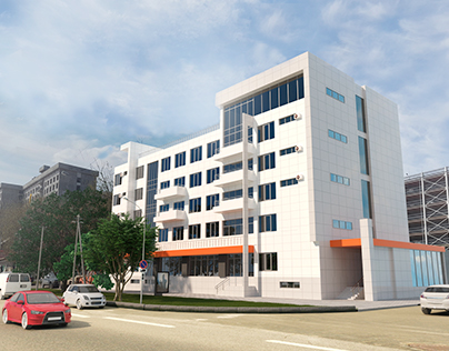 Visualization commercial building