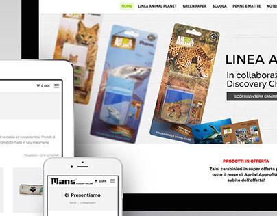 web e-commerce